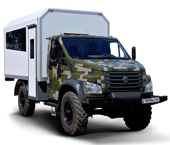 Новый ГАЗ Садко Next 4x4 (C41A23) - авторский обзор
